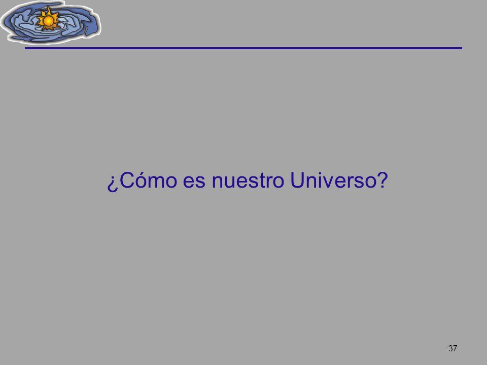 ¿Cómo es nuestro Universo? 37