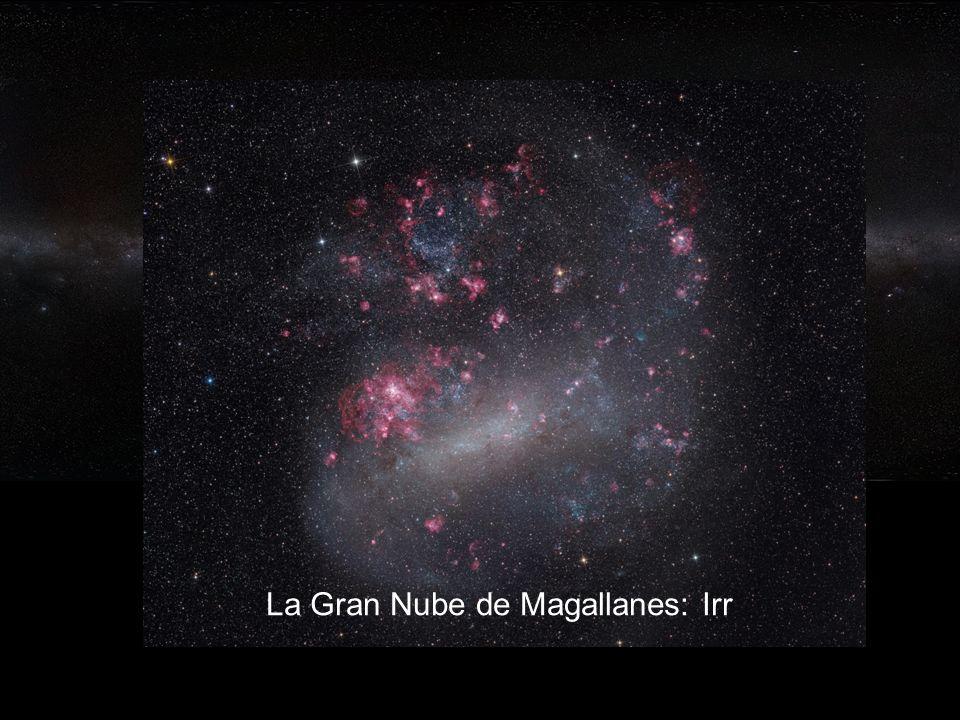 63 Nuestra galaxia: la Vía Láctea, SBc La Gran Nube de Magallanes: Irr
