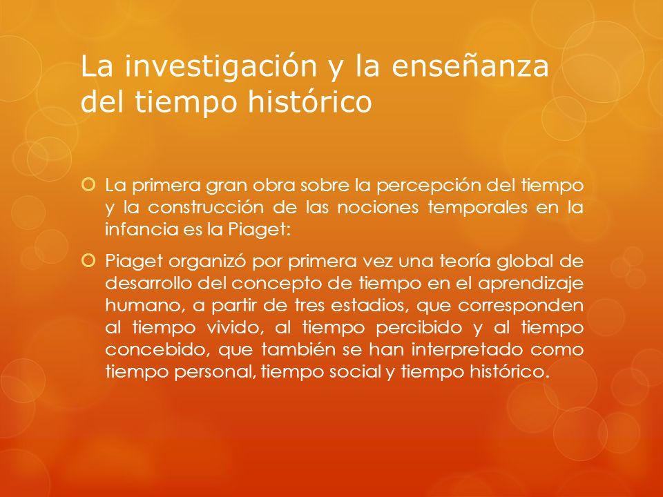 En general no se ha hecho un buen uso de las teorías de Piaget, ya que se han aplicado de manera mecánica a la enseñanza de la historia (Calvani, 1988).
