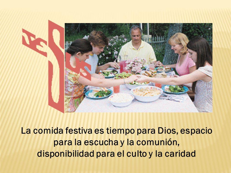 La familia que sabe suspender el flujo continuo del tiempo y se toma un descanso para hacer memoria con agradecimiento de los beneficios que ha recibido de su Señor se entrena a entrar en el descanso de Dios.
