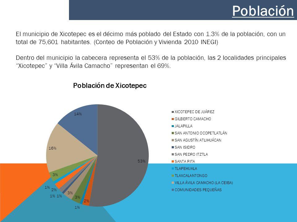 Actualmente en el municipio de Xicotepec se producen 47 ton/día de residuos solidos de estos 30 son de casas habitación y 17 de negocios y comercios distribuidos primordialmente en 21 subproductos englobados en los siguientes 6 productos susceptibles de ser reciclados.