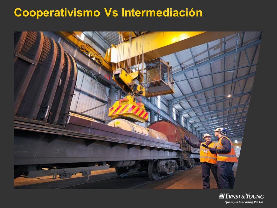 Cooperativismo Vs Intermediación