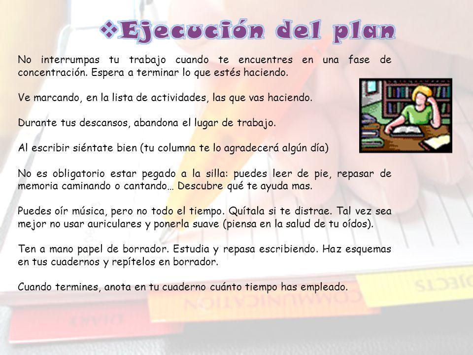 Finalmente TEN EN CUENTA… El horario deberá tener carácter semanal. Aprende a distribuir de manera correcta las asignaturas a estudiar, alternando aqu