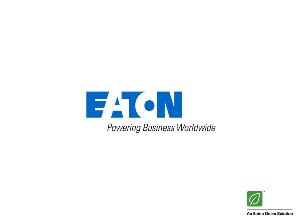 32 © 2013 Eaton Corporation. All rights reserved.