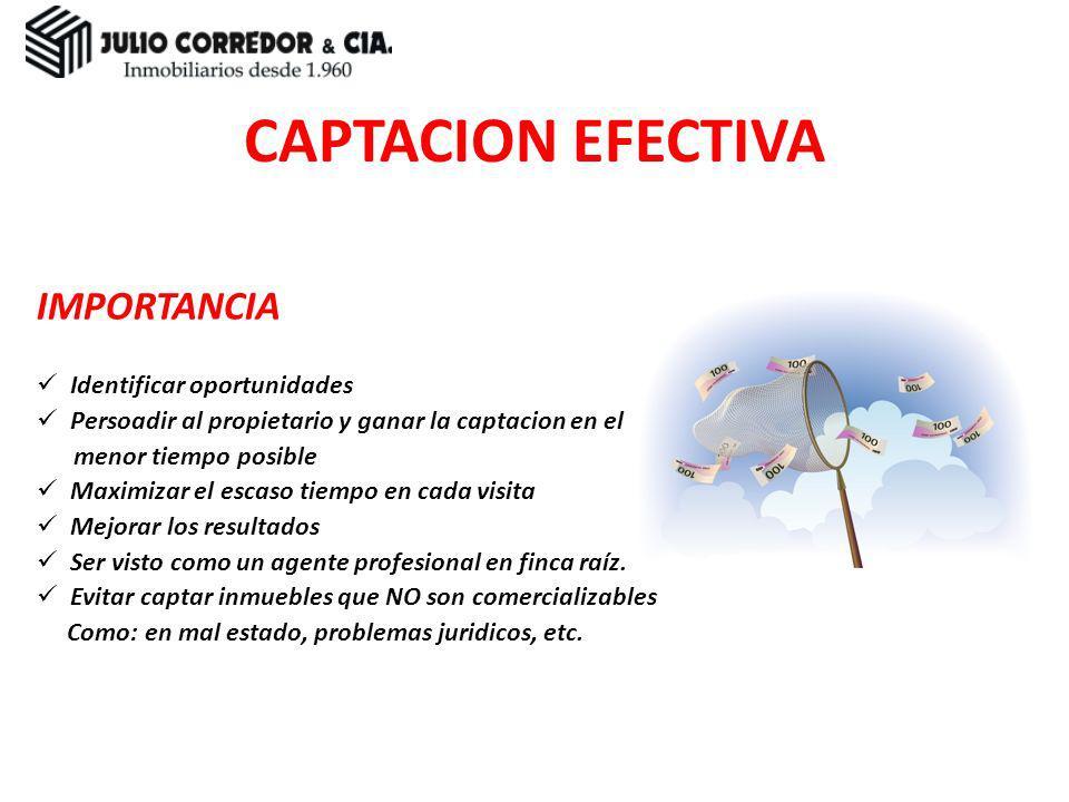 Preparación Introducción Observación Marketing Presentación Administración LOS PASOS HACIA EL ÉXITO EN CAPTACION HACIA EL ÉXITO EN