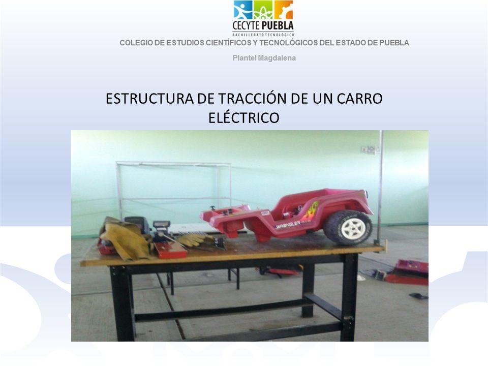 ESTRUCTURA DE TRACCIÓN DE UN CARRO ELÉCTRICO