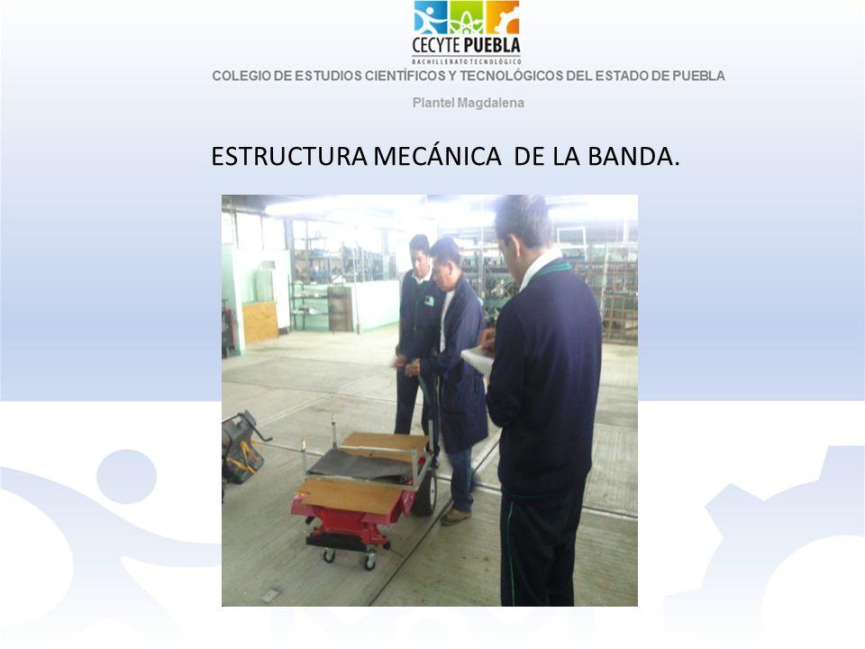 ESTRUCTURA MECÁNICA DE LA BANDA.