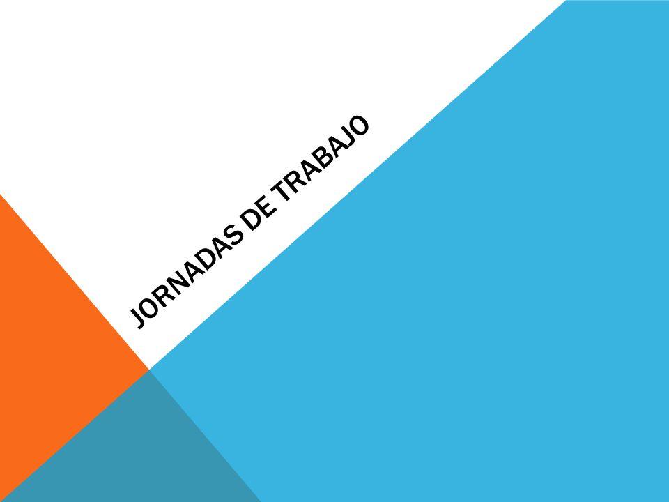 JORNADAS DE TRABAJO