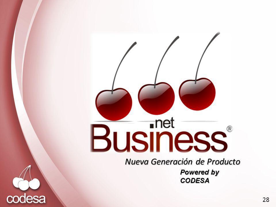 Nueva Generación de Producto Powered by CODESA 28