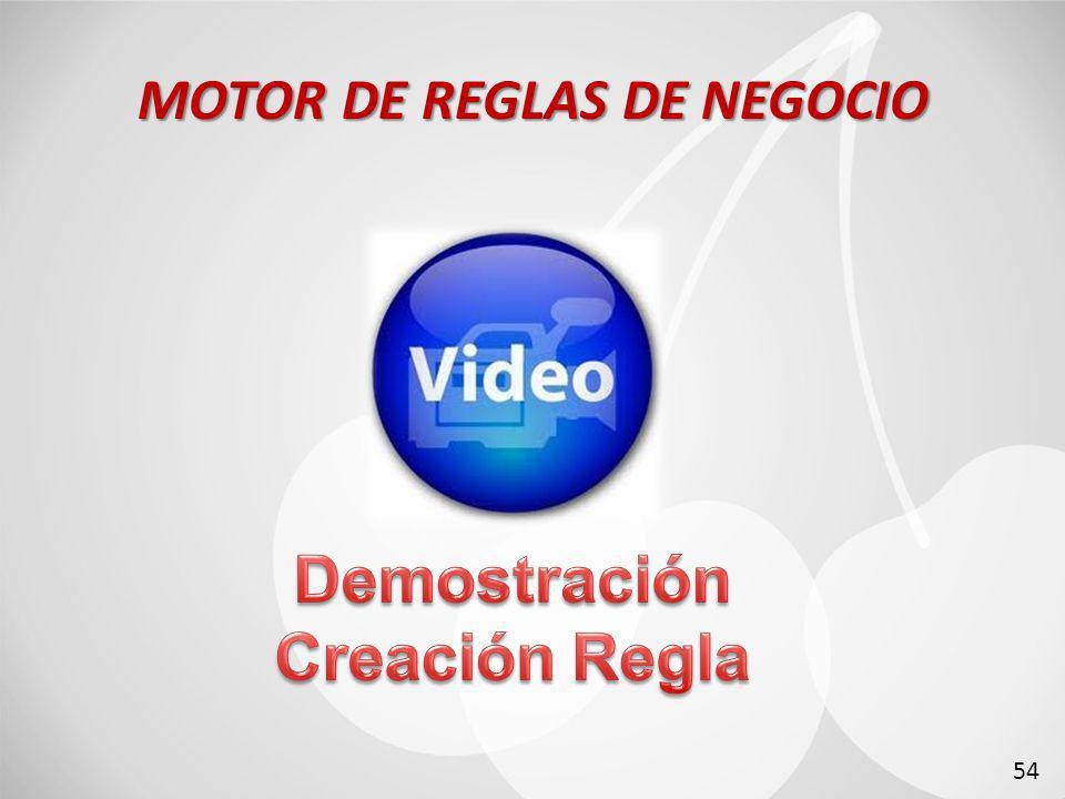 MOTOR DE REGLAS DE NEGOCIO 54