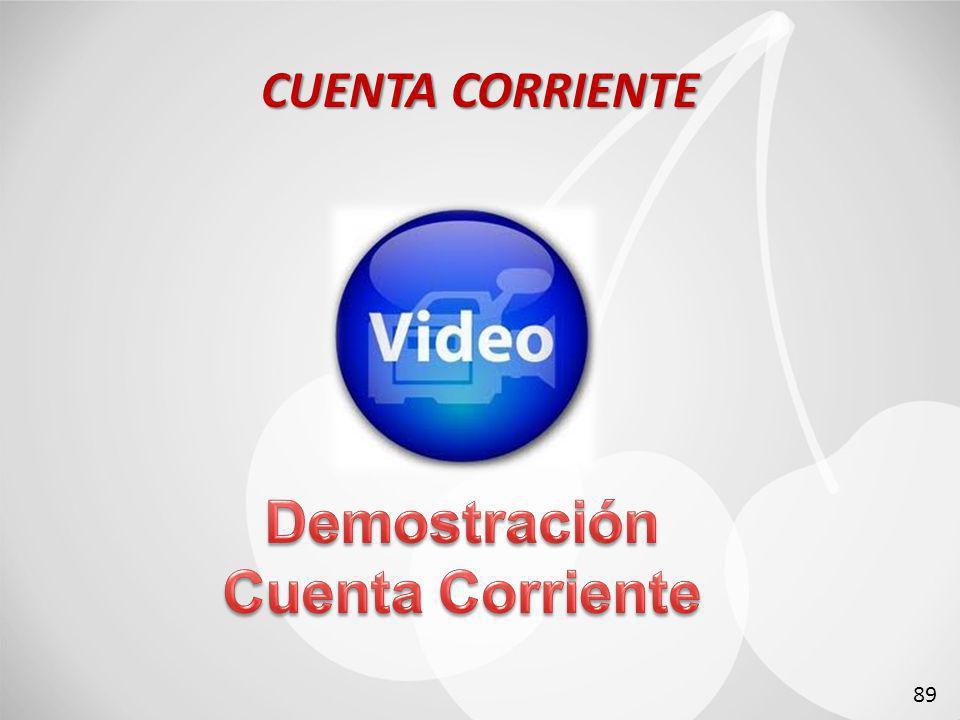 CUENTA CORRIENTE 89