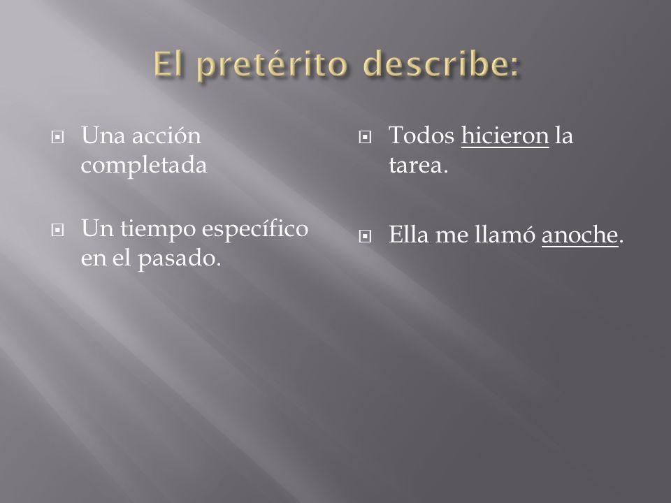 PRETÉRITOIMPERFECTO Did not want to (refused) Ej: El político no quiso decir nada.