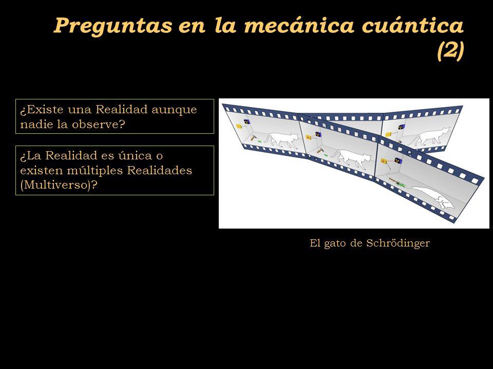 2011-04 Física moderna, Cosmología y Doctrina Secreta Preguntas en la mecánica cuántica (2) ¿Existe una Realidad aunque nadie la observe.