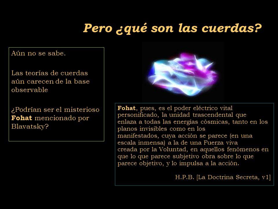 2011-04 Física moderna, Cosmología y Doctrina Secreta Pero ¿qué son las cuerdas.
