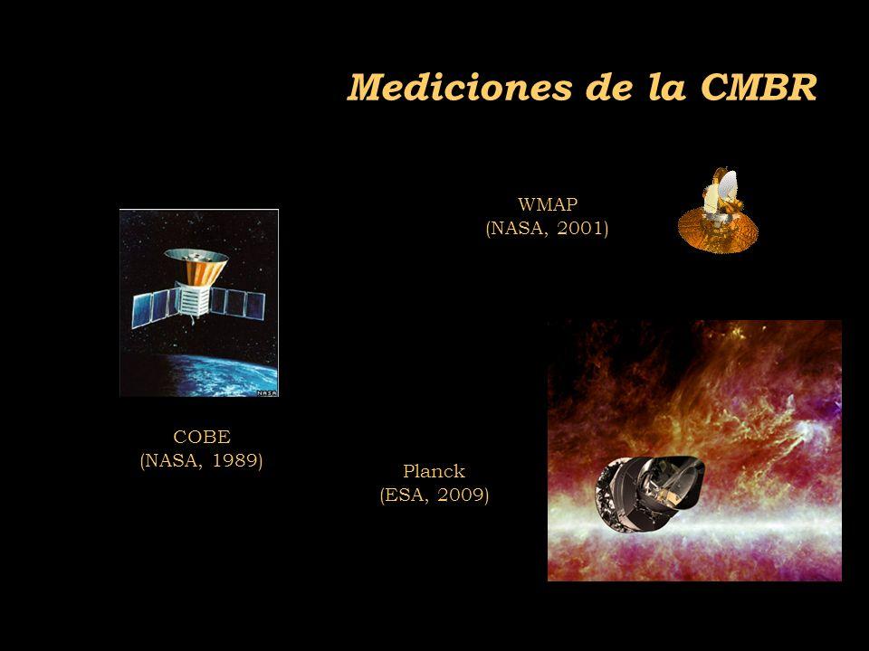 2011-04 Física moderna, Cosmología y Doctrina Secreta Mediciones de la CMBR WMAP (NASA, 2001) COBE (NASA, 1989) Planck (ESA, 2009)