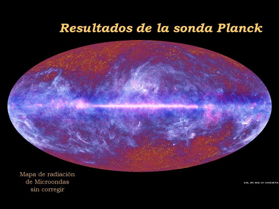 2011-04 Física moderna, Cosmología y Doctrina Secreta Resultados de la sonda Planck Mapa de radiación de Microondas sin corregir
