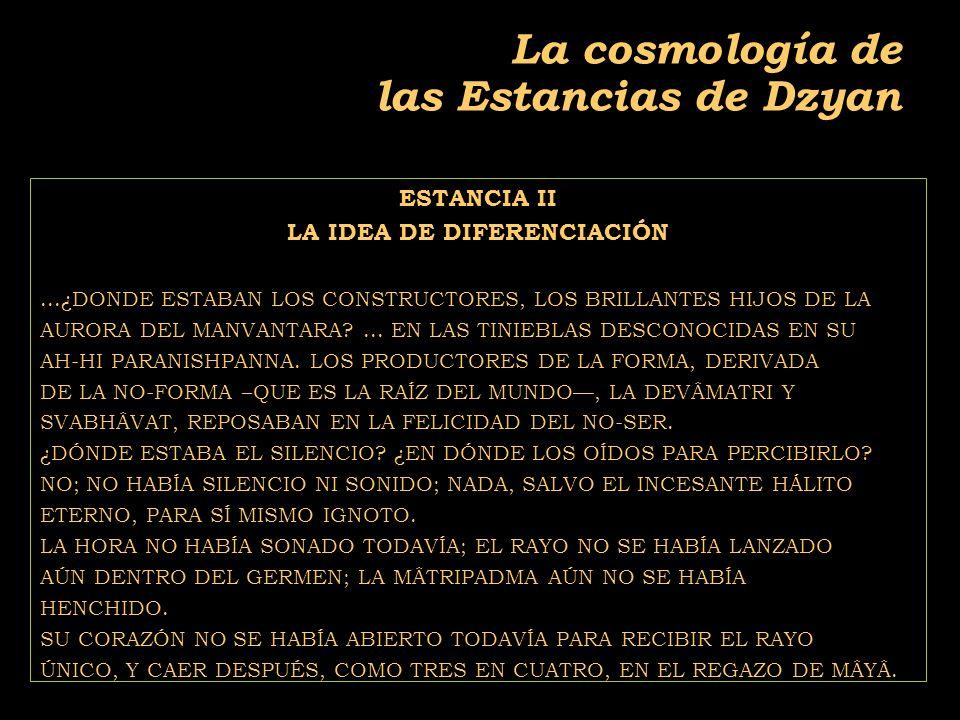 2011-04 Física moderna, Cosmología y Doctrina Secreta La cosmología de las Estancias de Dzyan ESTANCIA II LA IDEA DE DIFERENCIACIÓN...¿DONDE ESTABAN LOS CONSTRUCTORES, LOS BRILLANTES HIJOS DE LA AURORA DEL MANVANTARA ...
