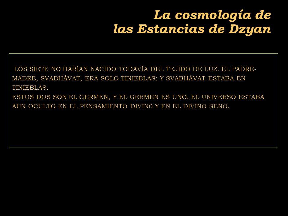 2011-04 Física moderna, Cosmología y Doctrina Secreta La cosmología de las Estancias de Dzyan LOS SIETE NO HABÍAN NACIDO TODAVÍA DEL TEJIDO DE LUZ.