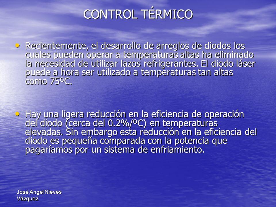 José Angel Nieves Vázquez Recientemente, el desarrollo de arreglos de diodos los cuales pueden operar a temperaturas altas ha eliminado la necesidad d