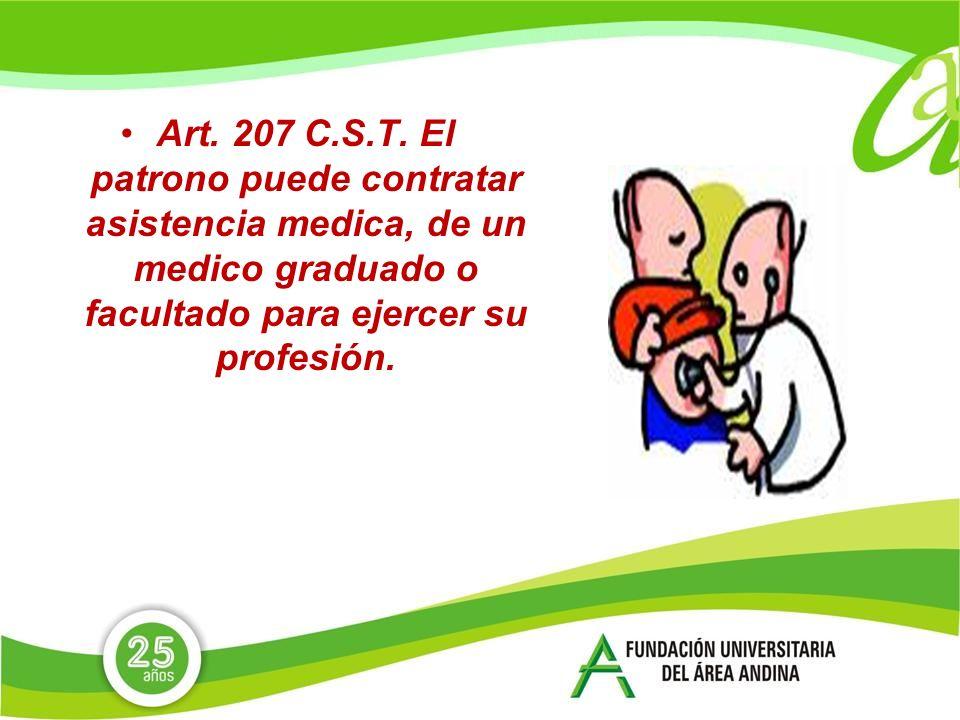 Art.207 C.S.T.
