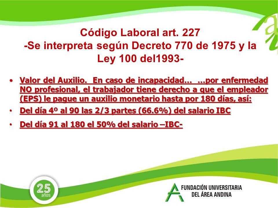 Código Laboral art.