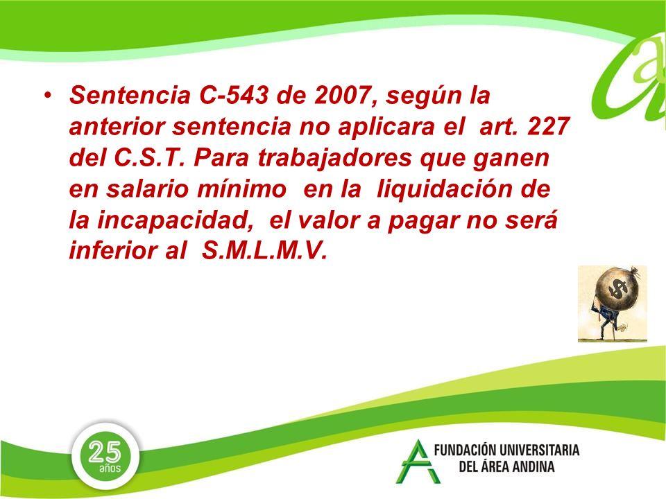 Sentencia C-543 de 2007, según la anterior sentencia no aplicara el art.