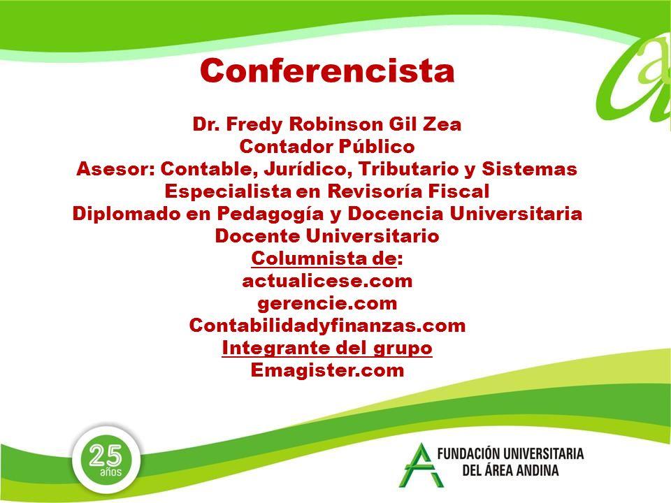 Conferencista Dr.