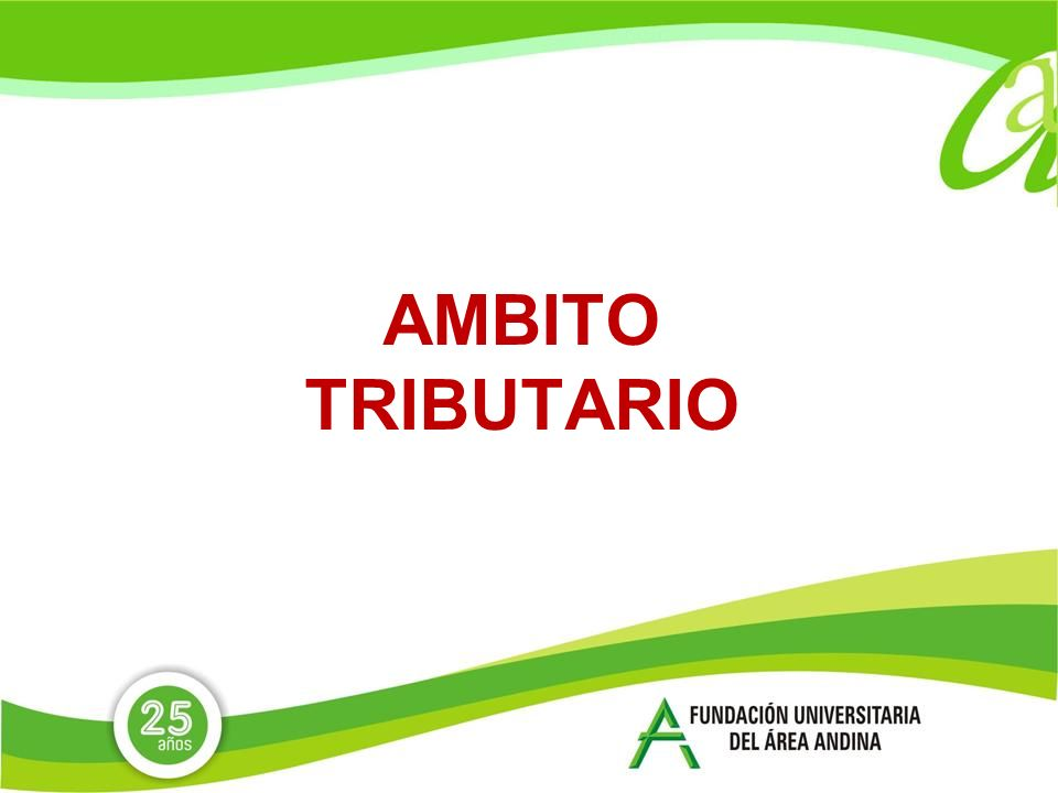AMBITO TRIBUTARIO