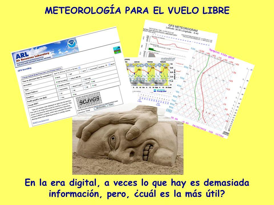 METEOROLOGÍA PARA EL VUELO LIBRE Diagrama THETA de temperatura potencial.