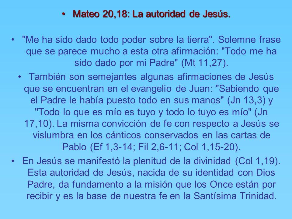 * Mateo 28, 17: Algunos dudaban.* Mateo 28, 17: Algunos dudaban. Al ver a Jesús, los discípulos se postraron delante de Él. La postración y la posició