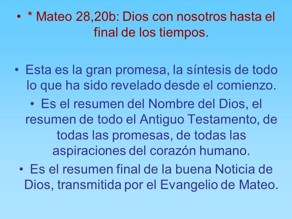b) Bautizar en el nombre del Padre, del Hijo y del Espíritu Santo: La Buena Noticia de Dios que Jesús nos ha traído es la revelación de que Dios es el
