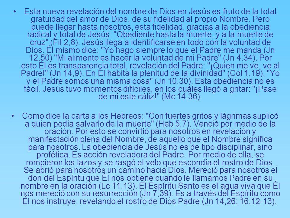 Con su muerte y resurrección Jesús quitó las barreras (Col 2,14) rompió el espejo de la auto-contemplación idólatra y abrió de nuevo la ventana a trav