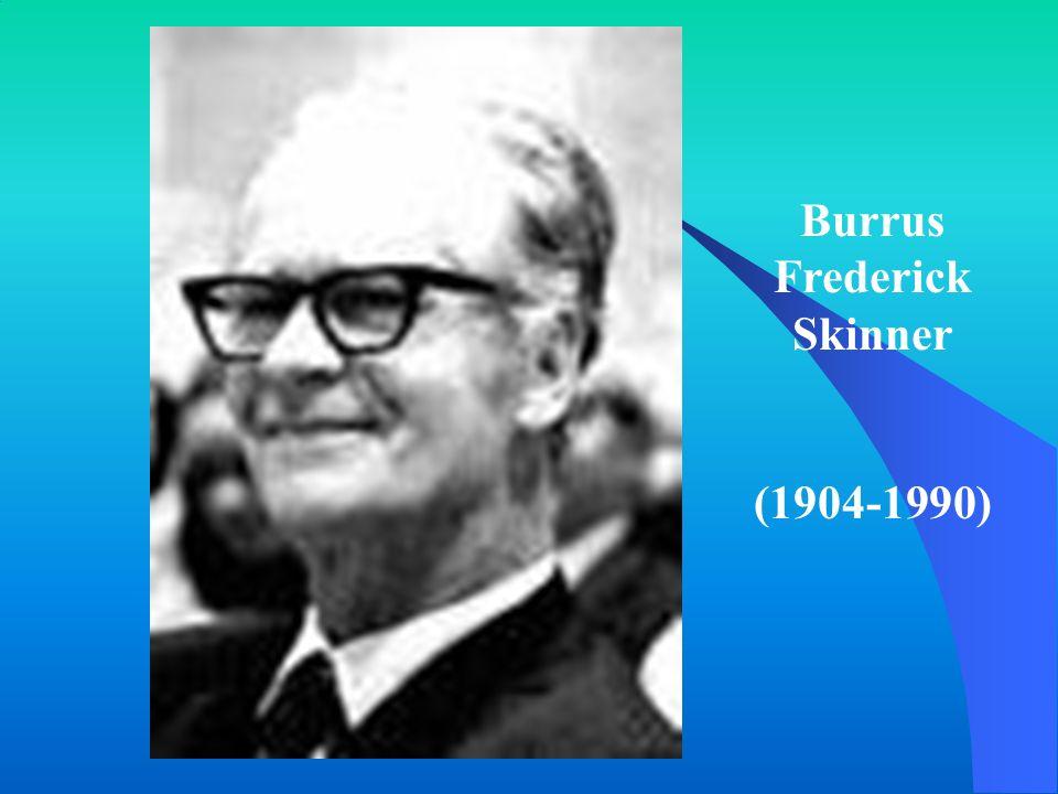Burrus Frederick Skinner (1904-1990)