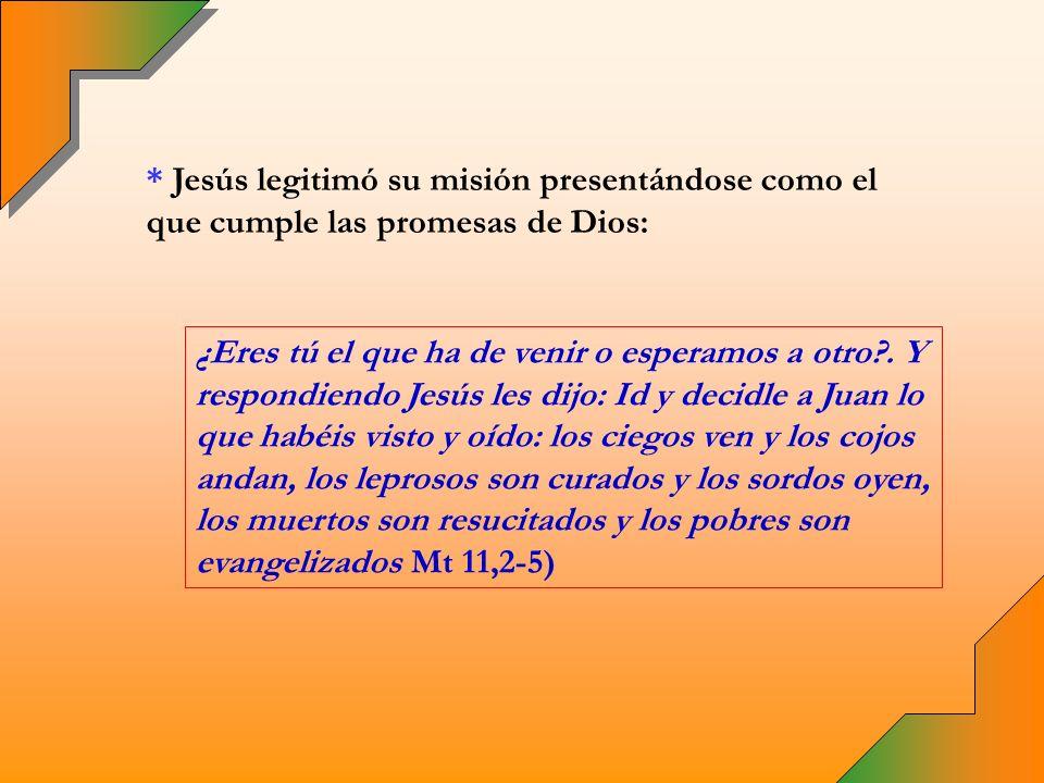 * En el Antiguo Testamento Dios actúa directamente o por medio de sus enviados.