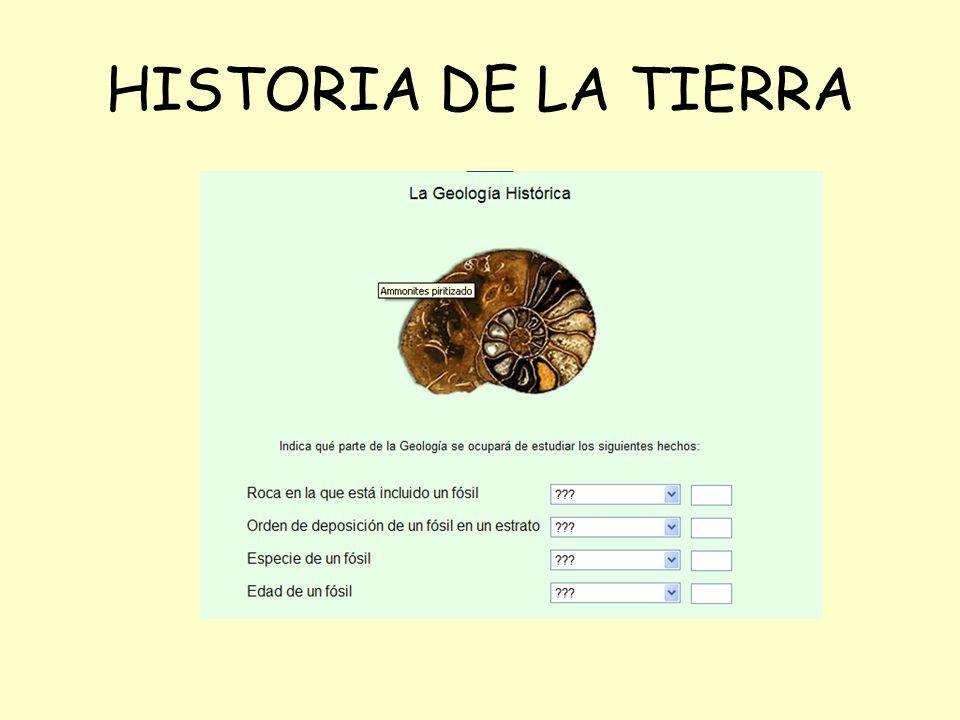 HISTORIA DE LA TIERRA