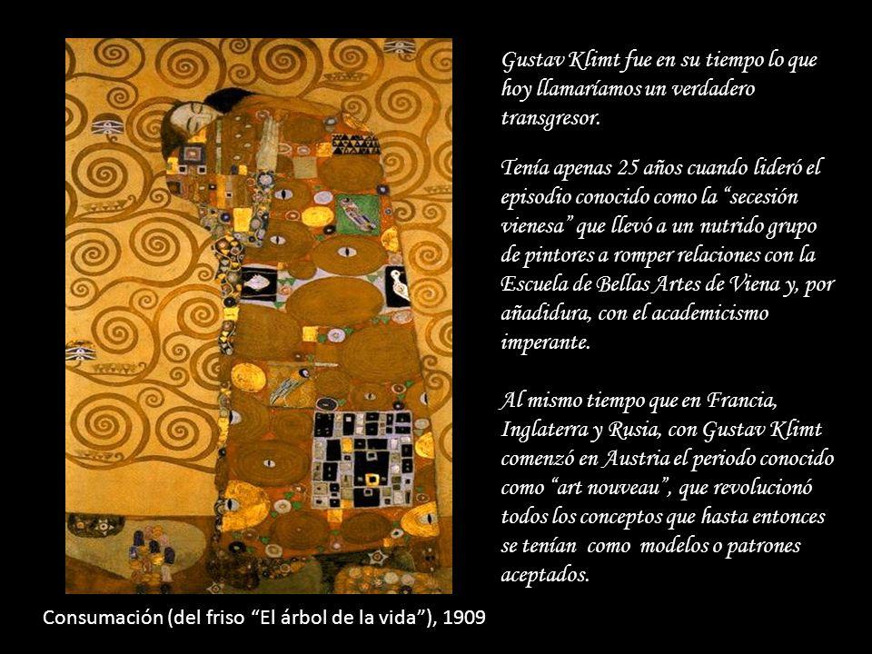 Gustav Klimt fue en su tiempo lo que hoy llamaríamos un verdadero transgresor.