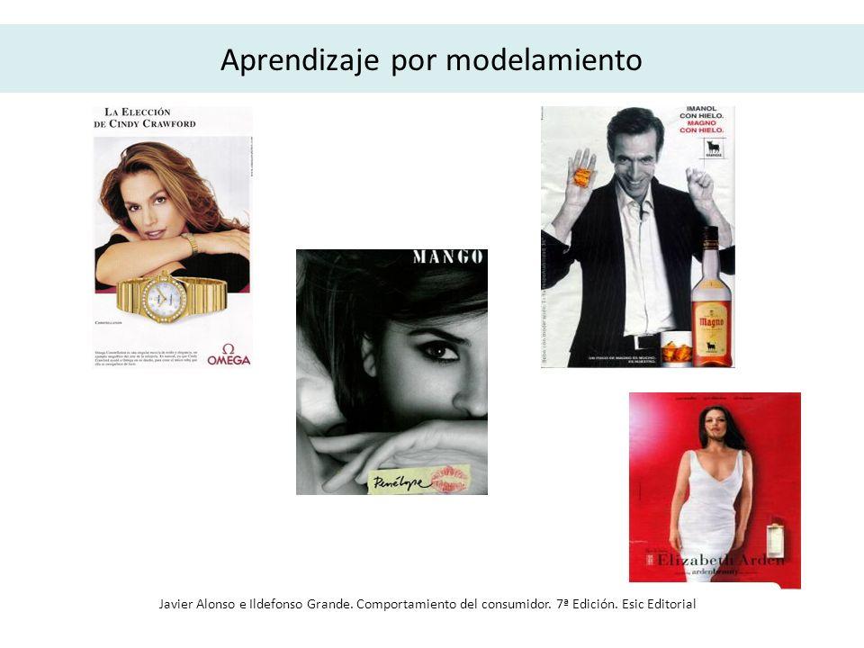 Aprendizaje por modelamiento Javier Alonso e Ildefonso Grande. Comportamiento del consumidor. 7ª Edición. Esic Editorial