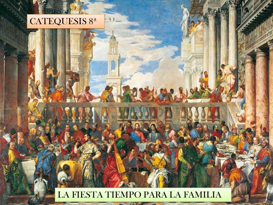 CATEQUESIS 8ª LA FIESTA TIEMPO PARA LA FAMILIA
