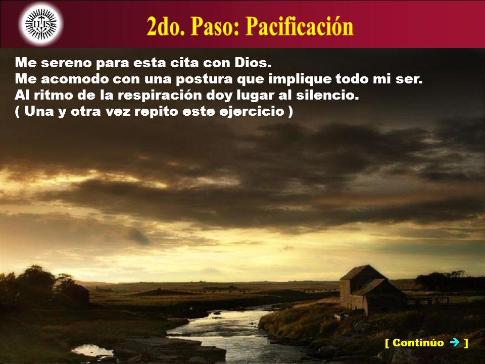 [ Sigo adelante ] NOTA: La oración preparatoria me ayuda a experimentar libertad de apegos.