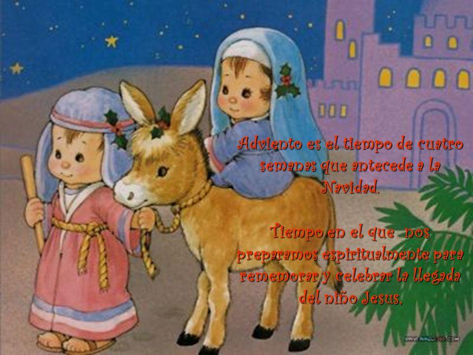 María esperó el nacimiento de su hijo, el hijo de DIOS, el Salvador. DIOS esperó el encuentro pleno con la humanidad, su creación, a través de Jesus,