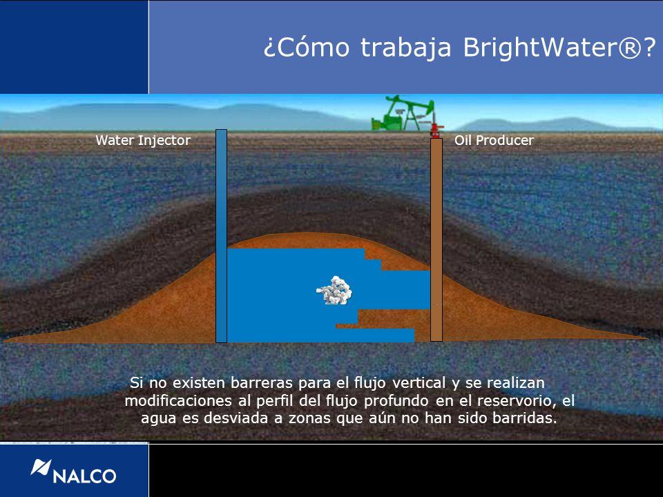 Water InjectorOil Producer Si no existen barreras para el flujo vertical y se realizan modificaciones al perfil del flujo profundo en el reservorio, e