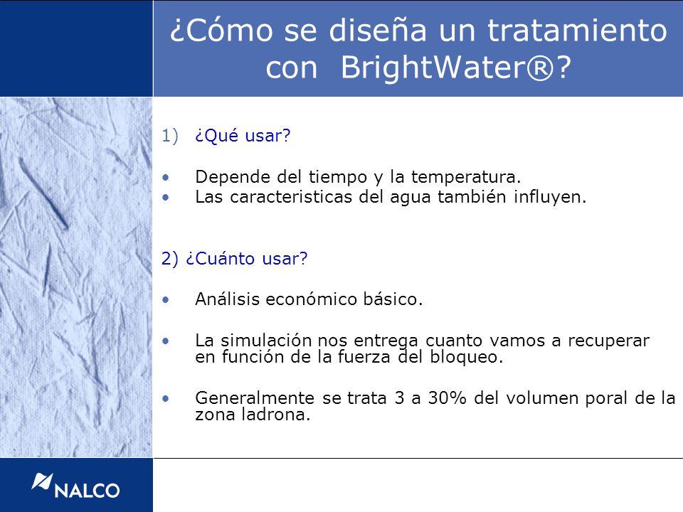 1)¿Qué usar? Depende del tiempo y la temperatura. Las caracteristicas del agua también influyen. 2) ¿Cuánto usar? Análisis económico básico. La simula