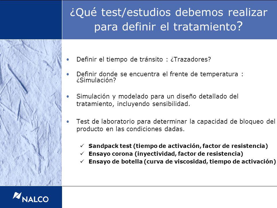 ¿Qué test/estudios debemos realizar para definir el tratamiento ? Definir el tiempo de tránsito : ¿Trazadores? Definir donde se encuentra el frente de
