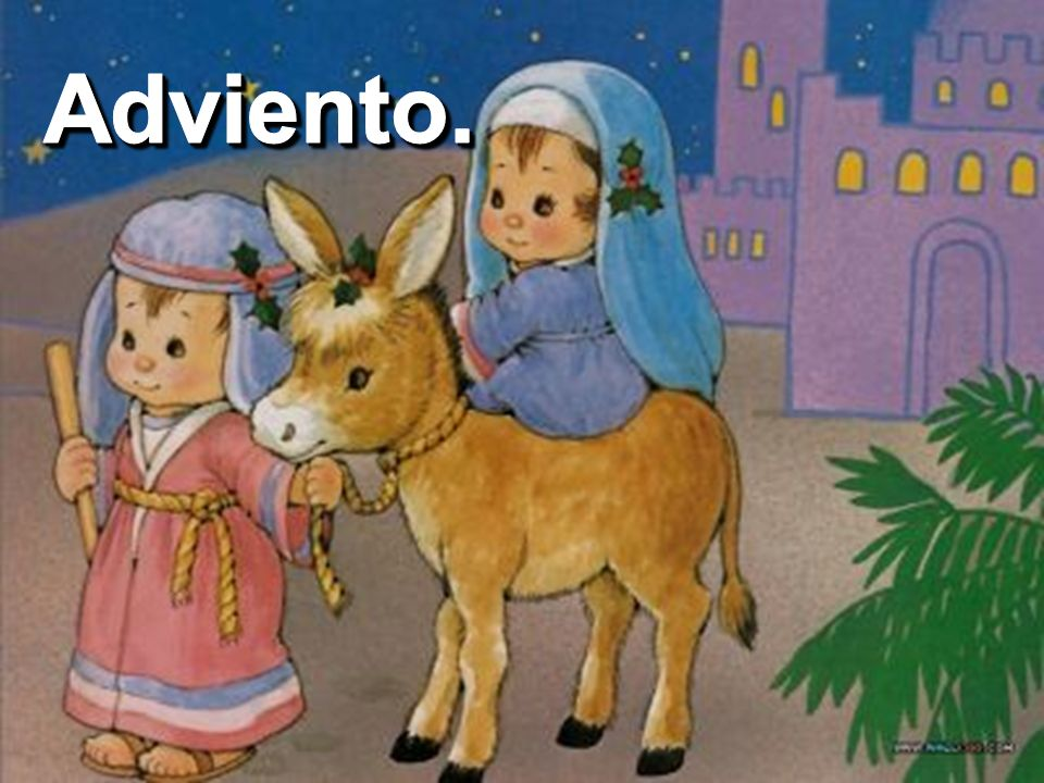 María esperó el nacimiento de su hijo, el hijo de DIOS, el Salvador. DIOS esperó el encuentro pleno con la humanidad, su creación, a través de Jesús,