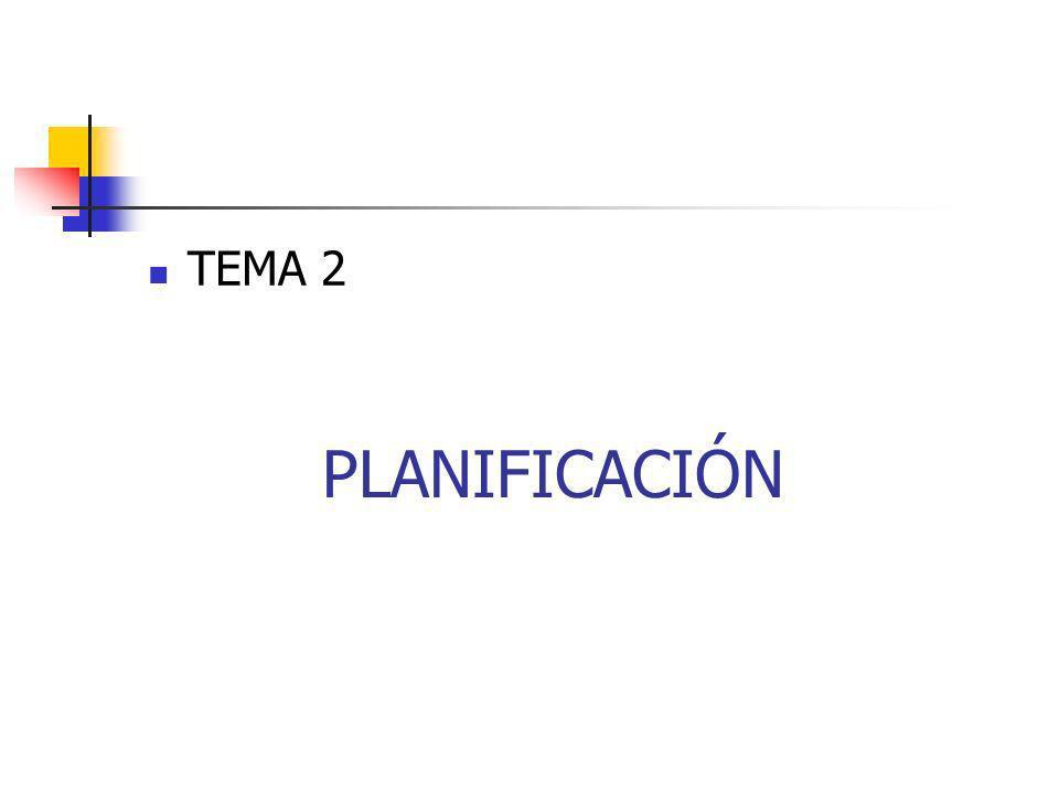PLANIFICACIÓN TEMA 2