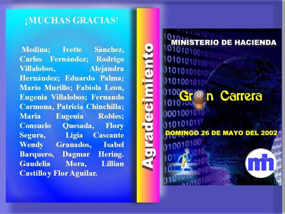 ¡MUCHAS GRACIAS! Medina; Ivette Sánchez, Carlos Fernández; Rodrigo Villalobos, Alejandra Hernández; Eduardo Palma; Mario Murillo; Fabiola Leon, Eugeni