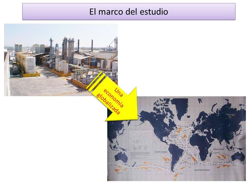 El marco del estudio Una economía globalizada