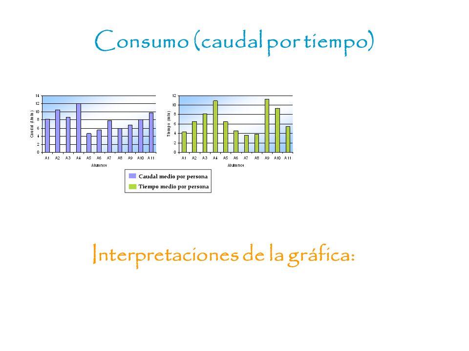 Interpretaciones de la gráfica: