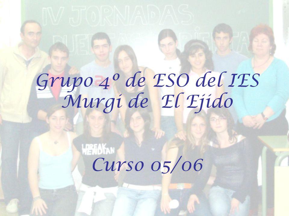 Grupo 4º de ESO del IES Murgi de El Ejido Curso 05/06