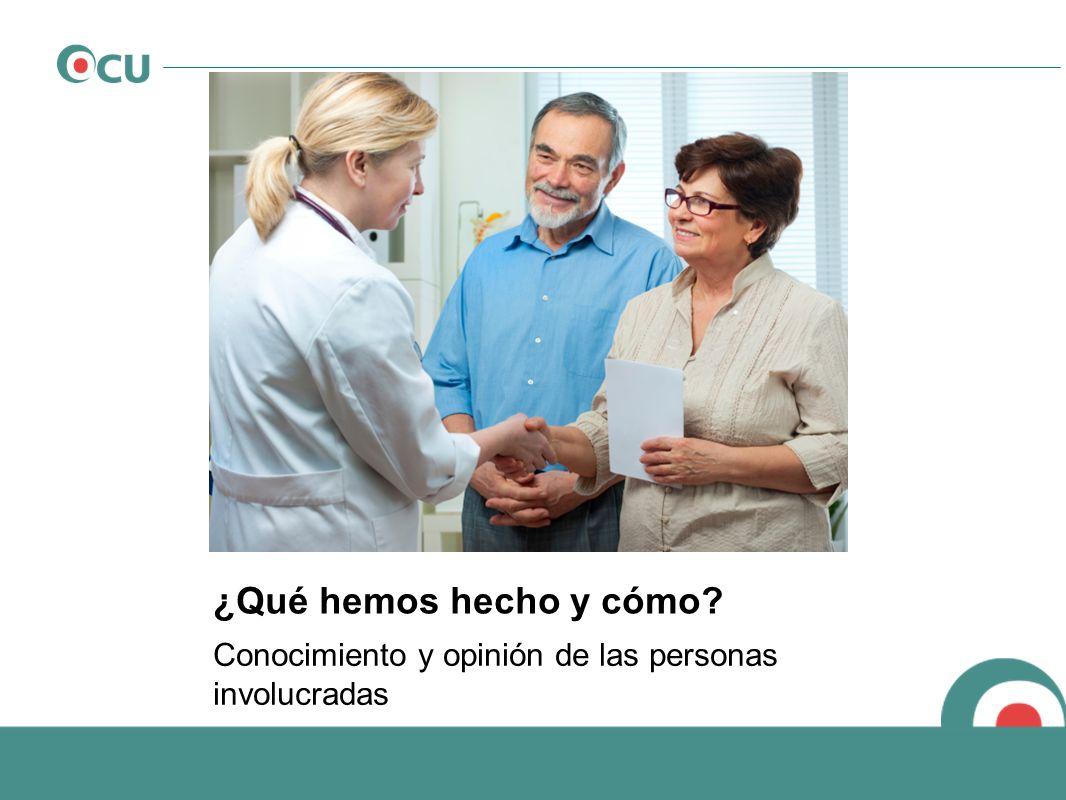 Punto de vista investigación: Punto de vista investigación: El paciente tiene derecho a una información suficiente y adecuada para poder elegir ¿Cómo es el acceso.